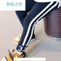 童装女童裤子儿童春装中小童弹力运动裤2017新款款裤子宝宝长裤潮