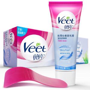 薇婷(Veet)丝滑沁香脱毛膏 温和护肤型80g