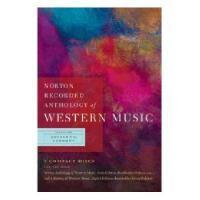 【预订】Norton Recorded Anthology of Western Music