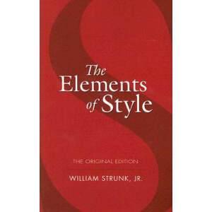 【现货】The Elements of Style 英文原版 风格的要素 实用的英文写作指导  便携平装版