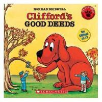 英文原版儿童书Clifford'S Good Deeds (Audio)大红狗做好事(含CD)有声读物
