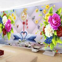 5D钻石画满钻客厅卧室十字绣家和万事兴2017新款点砖石绣简约现代