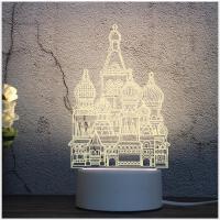 创意礼品灯3d动物小台灯led装饰小夜灯新奇特小礼物少女心小台灯