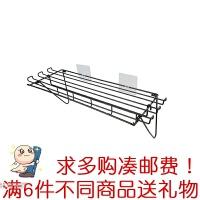 挂架铁艺壁挂浴室收纳篮免打孔调料架墙上储物架子厨房用品置物架