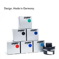 德国原装LAMY/凌美钢笔墨水T52彩墨黑色蓝黑蓝50ml瓶装非碳素墨水