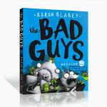 顺丰包邮 进口英文原版正版 The Bad Guys 大坏蛋/砍人先生第4集 Aaron Blabey儿童黑白漫画故事