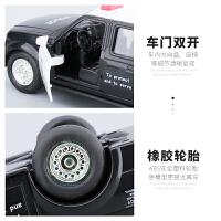 儿童玩具警汽车模型男孩宝宝大号皮卡惯性玩具车2-6周岁