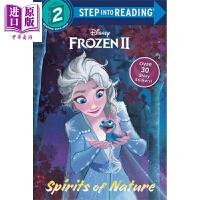 【中商原版】阅读进阶2级:冰雪奇缘2Frozen 2 forest of shadows 冰雪奇缘 分级读物 亲子英文