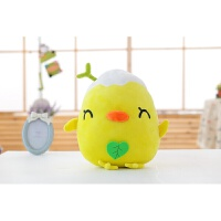 创意可爱长草鸡蛋仔君公仔挂件毛绒玩具破壳鸡抱枕儿童礼物