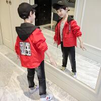 男童春装外套2018新款韩版宝宝儿童装春秋风衣夹克小男孩上衣潮衣