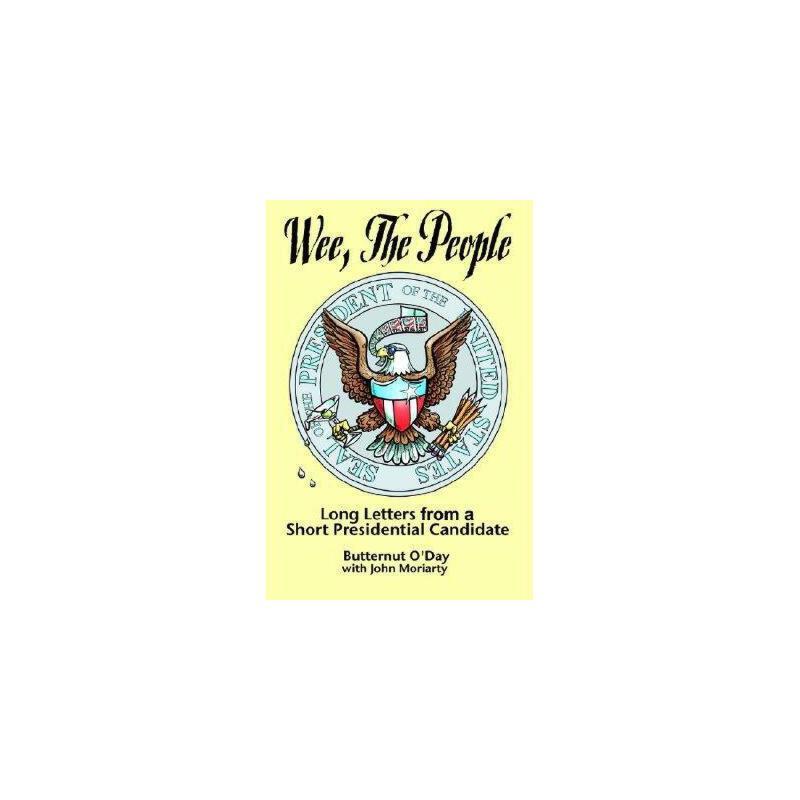 【预订】Wee, the People: Long Letters from a Short 美国库房发货,通常付款后3-5周到货!