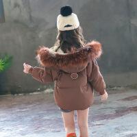 童装女童2018新款女孩洋气外套羽绒棉儿童中大童冬装短款棉袄