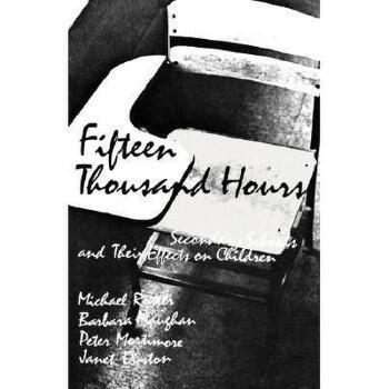 【预订】Fifteen Thousand Hours: Secondary Schools and Their 美国库房发货,通常付款后3-5周到货!