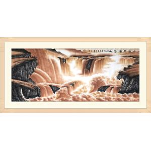国家一级美术师、中国美协会员 吕少华 《长河涌金》