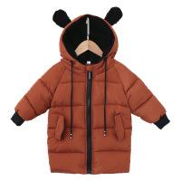 2018新款儿童棉衣宝宝冬装中长款男女童棉袄加厚羽绒外套