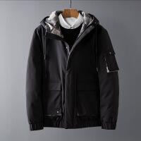 冬季羽绒服男装韩版潮流加厚休闲短款修身保暖男外套