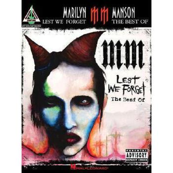 【预订】Marilyn Manson - Lest We Forget: The Best of 美国库房发货,通常付款后3-5周到货!