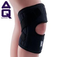 AQ护膝 弹簧支撑护膝透气排汗运动夏季篮球网球羽毛球登山骑行护具
