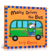 英文原版绘本 Maisy Drives the Bus 小鼠波波 廖彩杏少儿童书