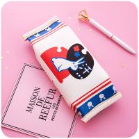六一儿童节520韩国简约小清新可爱初中生零食笔袋女网红个性搞怪创意铅笔文具盒520礼物母亲节