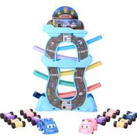 儿童玩具小汽车惯性回力小车男孩宝宝1-3早教2-4岁滑翔车轨道