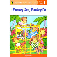 Monkey See, Monkey Do (Level-1) 猴子看,猴子做(企鹅儿童分级读物-1)97804484