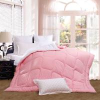 富安娜家纺 暖馨家乐床上用品冬厚被子 暖冬纤维保暖单双人适用被芯