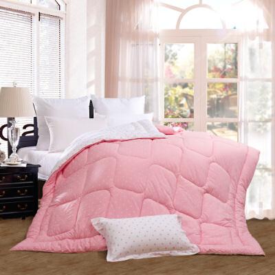 【限时秒杀】富安娜家纺 暖馨家乐床上用品冬厚被子 暖冬纤维保暖单双人适用被芯