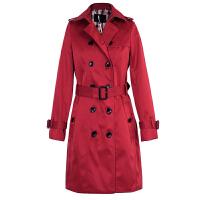 韩版风衣女中长款春季 新款 春款女士风衣外套修身春秋女装