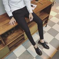小码男装秋季上班商务休闲裤长裤子26码27号小西裤矮小个子修身裤