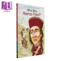 【中商原版】Who Was系列 Who Was Marco Polo 谁是马可波罗 儿童历史名人科普百科 平装 英文原版