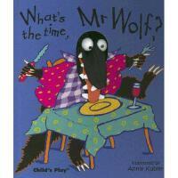 【预订】廖彩杏书单 低幼精装玩具指偶书What's the Time, Mr. Wolf? [With Finger