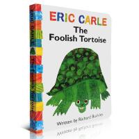 Eric Carle美国进口纸板童书 艾瑞 卡尔 The Foolish Tortoise
