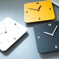 钟表挂钟时尚客厅个性亚克力石英钟简约现代挂表