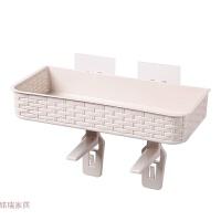 卫生间塑料收纳盒坐便器上置物架免打孔挂式吸盘收纳架厕所壁挂