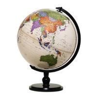 博目32cm中文数字地形地球仪-32cm中英文政区仿古地球仪-113275-(炫影黑架)*9787503034879