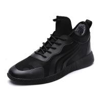 DAZED CONFUSED 潮牌韩版潮鞋男冬季保暖棉鞋男士运动休闲鞋男鞋时尚鞋子男板鞋