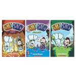 英文原版 Bunny vs. Monkey Bunny vs. Monkey 1-2-3册 兔子大战猴子 儿童睡前阅读