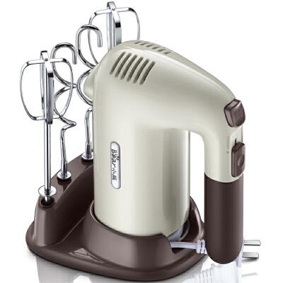 小熊(Bear)打蛋器 家用电动手持打蛋机 手持搅拌打奶油和面机 DDQ-B01A1 支持* 打蛋/和面双棒配置,烘焙好帮手