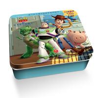 迪士尼卡通全明星铁盒拼图书:玩具总动员1・安迪家的新客人