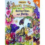 【预订】Butterflies and Moths [With Sticker]