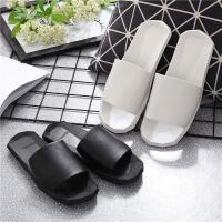 泰蜜熊一体成型PVC环保防滑耐磨厚底简约日式情侣款夏季凉拖鞋室内外可穿凉拖居家男女夏季拖鞋
