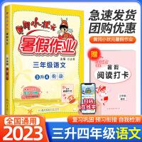 黄冈小状元暑假作业三年级语文2021新版三升四年级