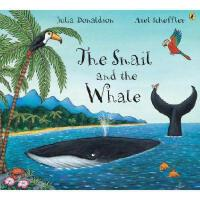 英文原版 The Snail and the Whale 小海螺和大鲸鱼