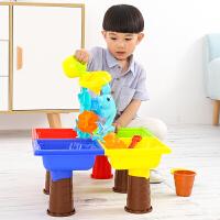 儿童沙滩玩具车套装玩沙挖沙漏大号铲子桶