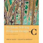 【预订】Problem Solving and Program Design in C