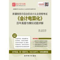 新疆维吾尔自治区会计从业资格考试《会计电算化》历年真题与模拟试题详解