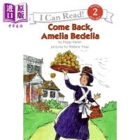 【中商原版】I Can Read Level 2 我可以读2级 糊涂女佣艾米利亚回归 Amelia Bedelia 儿童