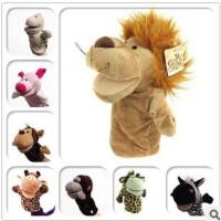 多款动物手偶玩具娃娃嘴巴能动卡通手套玩偶早教亲子玩偶