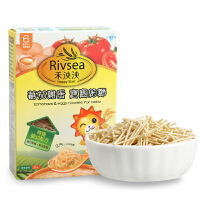 禾泱泱RIVSEA蕃茄鸡蛋宝宝细面婴幼儿辅食宝宝面条6个月以上160g